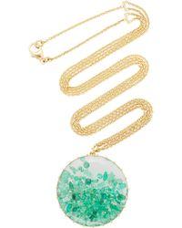 Renee Lewis Emerald Shake Necklace - Green