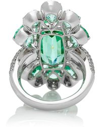 Sutra - Mint Tourmaline Cocktail Ring - Lyst