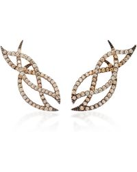 Kavant & Sharart - Le Phoenix Intertwine Mini Earrings - Lyst