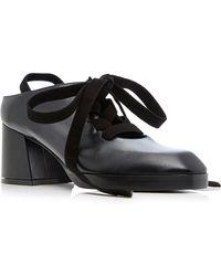 ADEAM - Ballet Lace-up Oxford Sandal - Lyst
