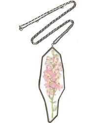 Rosie Assoulin - Pendant Flower Necklace - Lyst