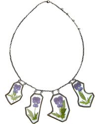 Rosie Assoulin - 4 Piece Flower Bib Necklace - Lyst