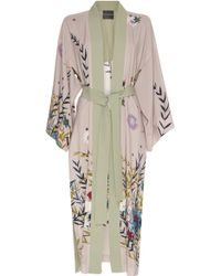 Erika Cavallini Semi Couture - Karine Printed Kimono - Lyst