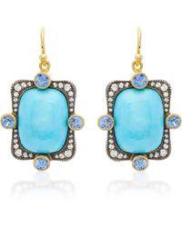 Arman Sarkisyan - Turquoise Earrings - Lyst