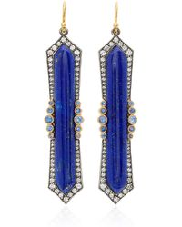 Arman Sarkisyan - Lapis And Blue Sapphire Earrings - Lyst