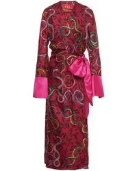 For Restless Sleepers   Dolos Wrap Pyjama Dress   Lyst