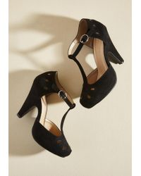 ModCloth - The Zest Is History Heel In Black - Lyst