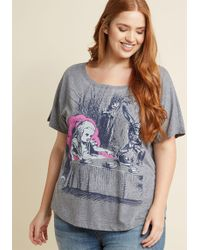 Out Of Print   Alice Right In The World Graphic T-shirt   Lyst