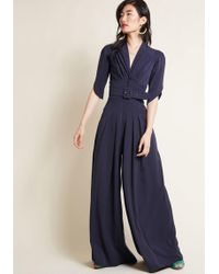 Miss Candyfloss - The Embolden Age Jumpsuit In Midnight - Lyst