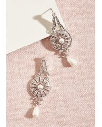 ModCloth - First Dance Together Earrings - Lyst
