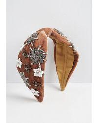 ModCloth Champagne Supernova Headband - Vintage Inspired - Natural