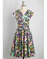 Folter Inc Attractive Imagination Dress - Multicolor