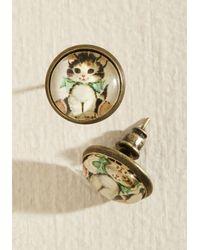 Beijo Brasil - From Meow On Earrings - Lyst