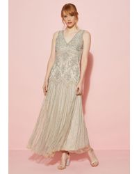 Pisarro Nights - All Aisles On You Maxi Dress In Champagne - Lyst