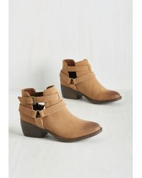 BC Footwear - Skip A Beat Bootie In Tan - Lyst