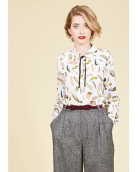 Sugarhill - Fly The Knot Button-up Top - Lyst