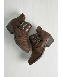 Fortune Dynamic - Vouch For Slouch Block Heel Bootie - Lyst