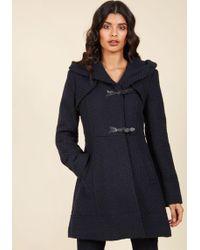 Jessica Simpson - Guten Toggle Coat In Navy - Lyst
