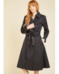 Hell Bunny London - The Sophisticate Crowd Trench - Lyst