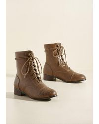 N.y.l.a. - Flaunt Your Footwork Boot In Caramel - Lyst