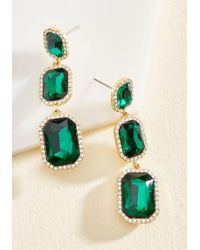 Cara - It's About Shine! Earrings In Forest - Lyst