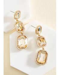 Cara - It's About Shine! Earrings In Champagne - Lyst