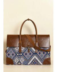 Nug - Clever Endeavor Weekend Bag In Geometric - Lyst