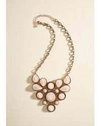 Ana Accessories Inc - Enlighten The Mood Necklace In Petal - Lyst