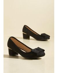 N.y.l.a. - Go For Glam Vegan Heel In Black - Lyst