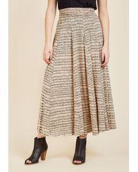 Effie's Heart - Comfortable Classic Maxi Skirt In Sheet Music - Lyst