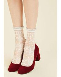 Gipsy Tights - Cheer For Sheer Socks - Lyst