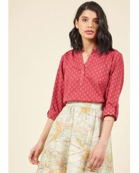 Mata Traders - You're Going Places Cotton Top - Lyst