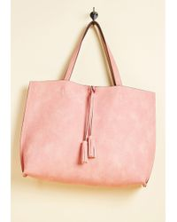 Triple 7 - Two Praises At Once Reversible Bag In Dusty Rose - Lyst