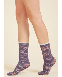 Gipsy Tights - Put In Your Lace Socks - Lyst