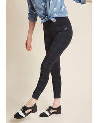 Boom Boom Jeans - Excel At Edge Plaid Leggings - Lyst