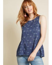 Mata Traders - Occasion Adaptable Cotton Sleeveless Top - Lyst