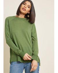 ModCloth - Living Breezy Lightweight Sweater - Lyst