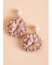 ModCloth - Freshly-picked Finesse Earrings - Lyst