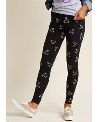 Banned - Good Light, And Good Luck Glow-in-the-dark Leggings - Lyst