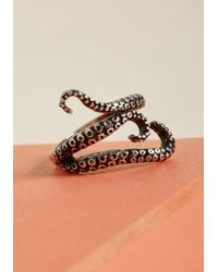 ModCloth - Keep Your Tenta-cool Octopus Ring - Lyst