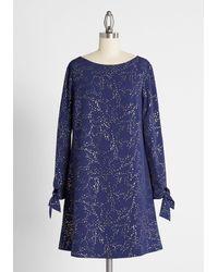 Hutch Floating Fairy Dust Shift Dress - Blue