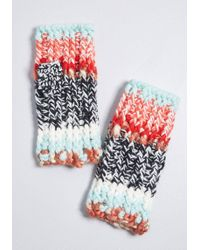ModCloth - Freeze To Success Glovettes - Lyst
