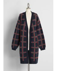 ModCloth Can't Be Compared Sweater Coat - Green