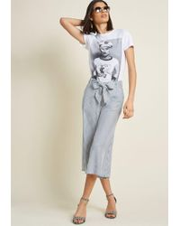 Jack BB Dakota - Crop Of Your Game Culottes - Lyst
