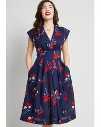 c30e0df4d66 Celebrated Style Fit And Flare Dress.  89  45 (45% off). ModCloth · Emily  and Fin - Saunter Sweetly A-line Dress - Lyst