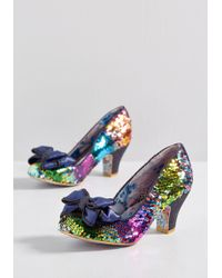 Irregular Choice - For The Love Of Color Sequin Heel - Lyst