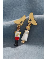 Les Nereides - Prince And Princess Earrings - Lyst