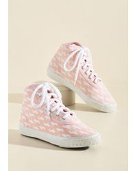 ModCloth - Everyday Energetic Sneaker In Pink Unicorn - Lyst