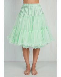 Banned | Chic Takes Shape Petticoat In Pistachio | Lyst