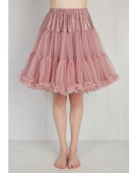 Banned | Chic Takes Shape Petticoat In Dusty Rose | Lyst